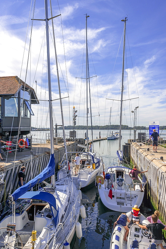 Chichester harbour, estuary, West Sussex, England, United Kingdom, Europe - 255-8986