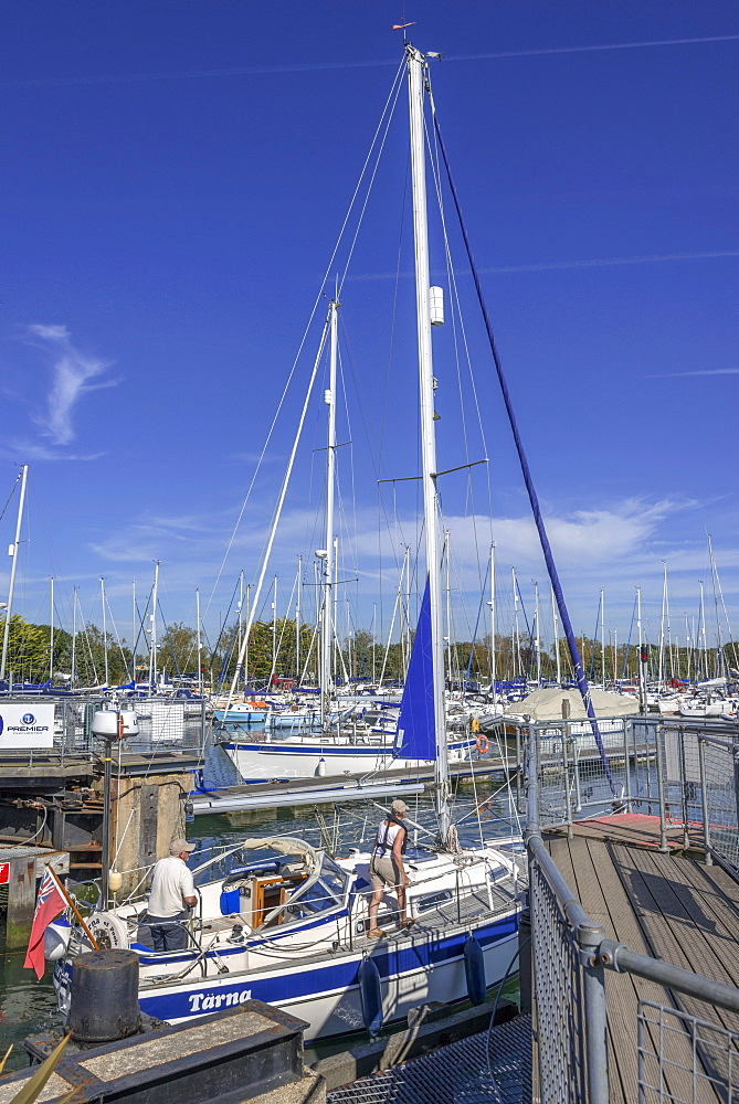 Chichester harbour, estuary, West Sussex, England, United Kingdom, Europe - 255-9005
