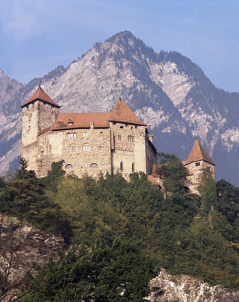 Balzers, Liechtenstein, Europe