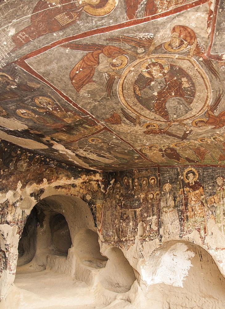 St. Georges Church (Kirk Dam Alti Kilise), Belisirma, Ihlara, western Cappadocia, Anatolia, Turkey, Asia Minor, Eurasia