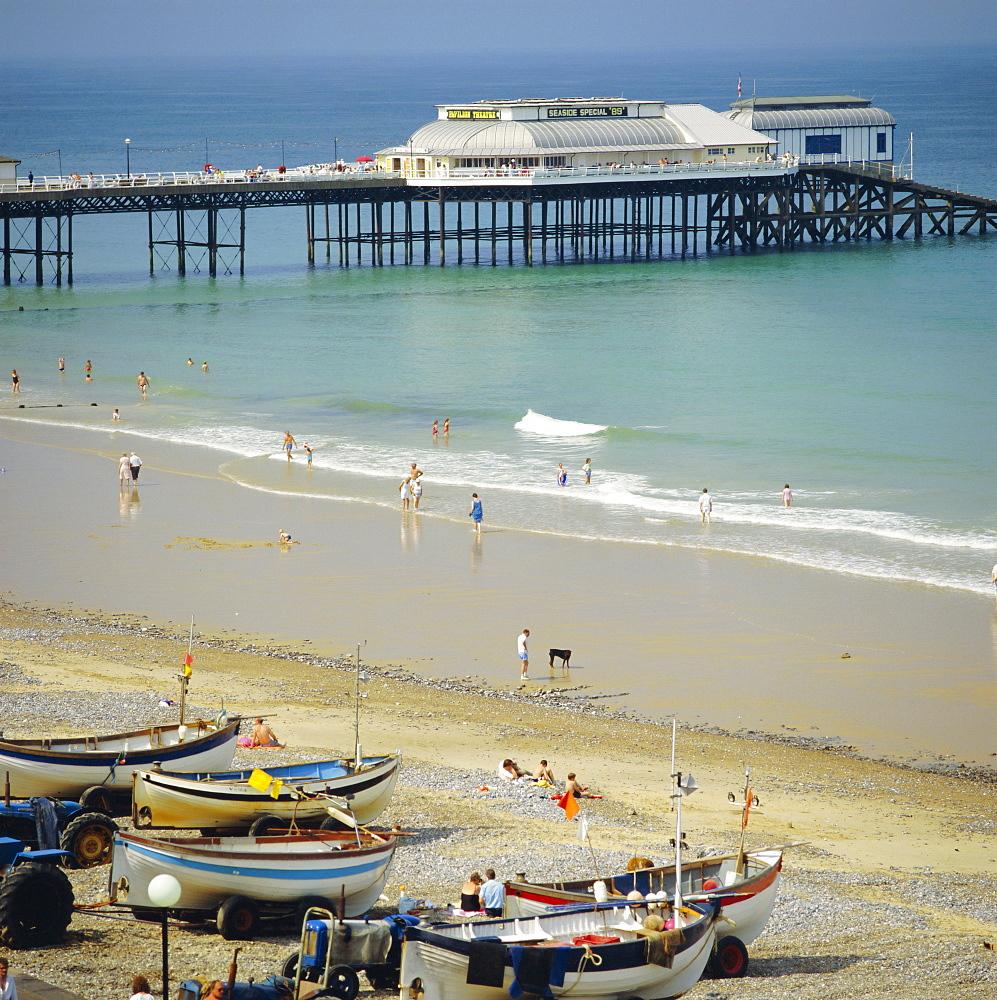 The Beach and Pier, Cromer, Norfolk, England, UK