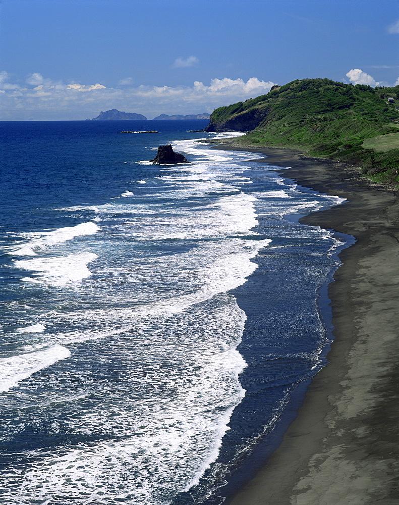 Windward coast at Argyle Beach, St. Vincent, Windward Islands, West Indies, Caribbean, Central America