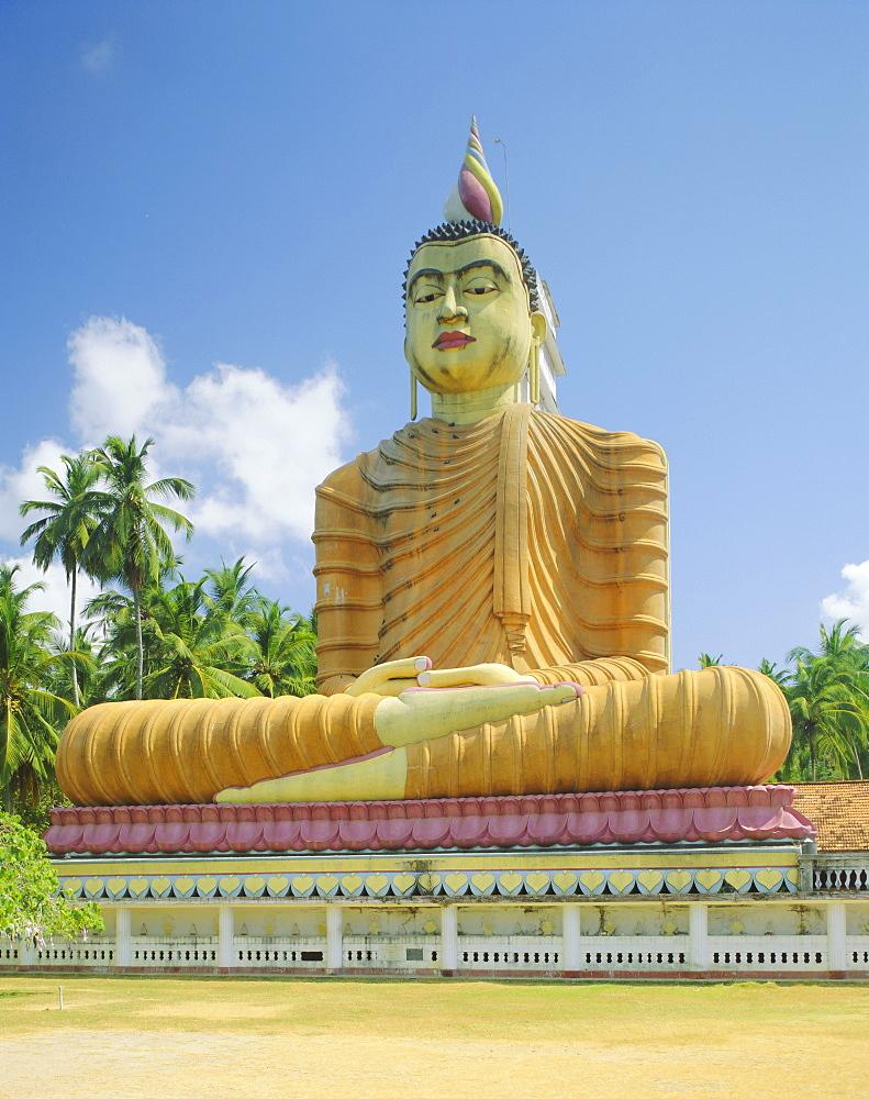 Giant seated Buddha statue, Wewurukannala, Dikwella, Sri Lanka