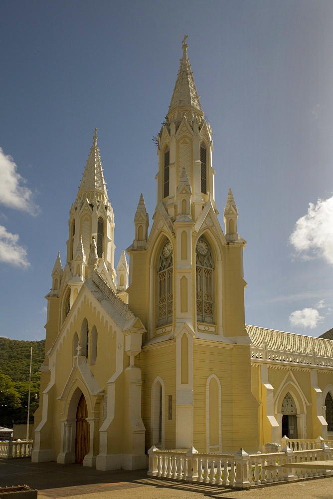 El Valle church, Margarita island, Venezuela, South America
