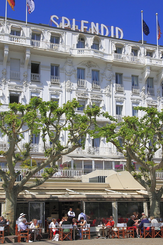 Hotel Splendid, Cannes, Alpes Maritimes, Provence, Cote d'Azur, French Riviera, France, Europe