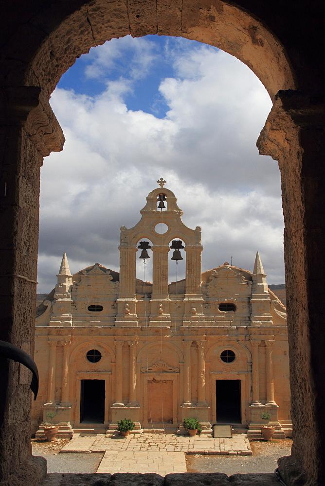 Arkadi monastery, Rethymno province, Crete, Greek Islands, Greece, Europe  - 306-4134