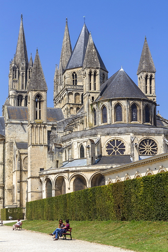 Abbaye-aux-Hommes, Caen, Normandy, France, Europe