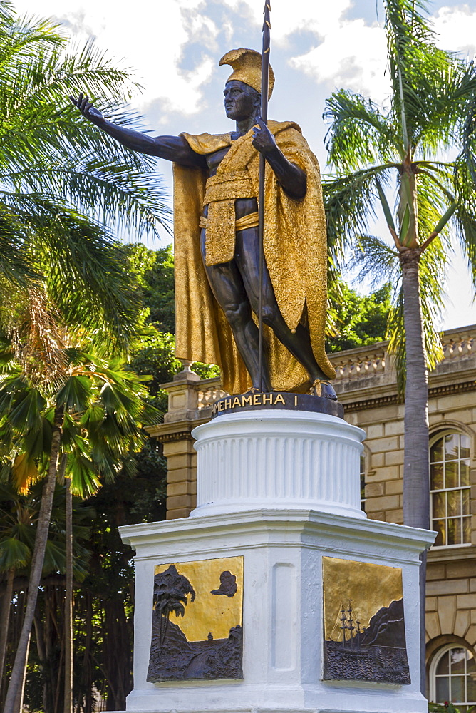 King Kamehameha 1, Honolulu, Oahu, Hawaii, United States of America, Pacific