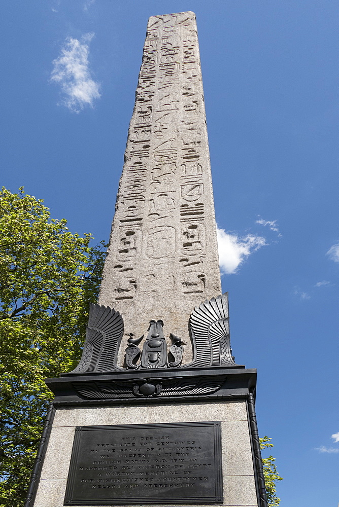 Cleopatra's Needle, Victoria Embankment, London, England, United Kingdom, Europe
