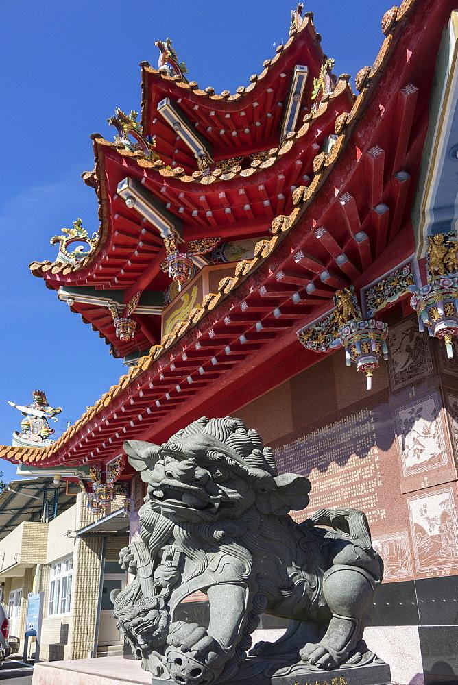 Longfeng Temple, Sun Moon Lake, Taiwan, Asia - 306-4414