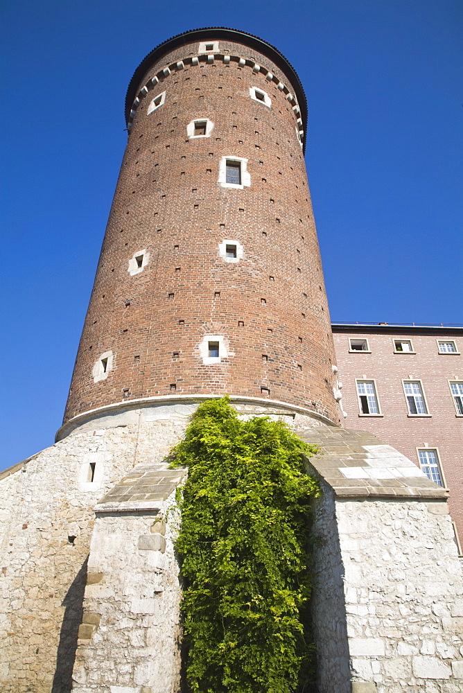 Watch Tower, Wawel Castle, Wawel Hill, Krakow, Poland, Europe