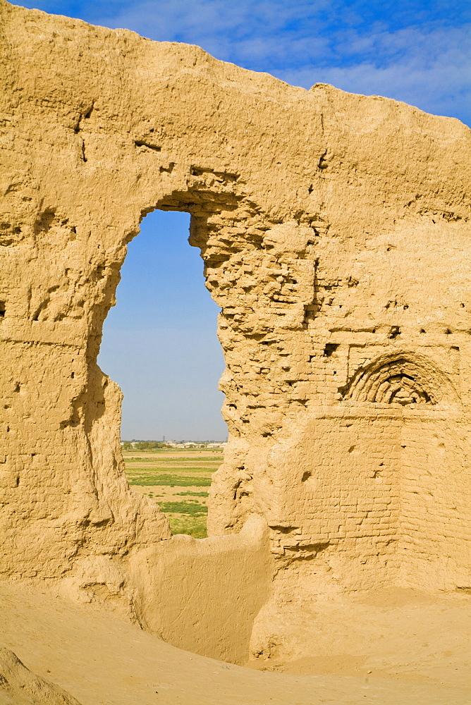 Ancient Merv, UNESCO World Heritage Site, Great Kiz Kala, Mary, Turkmenistan, Central Asia, Asia