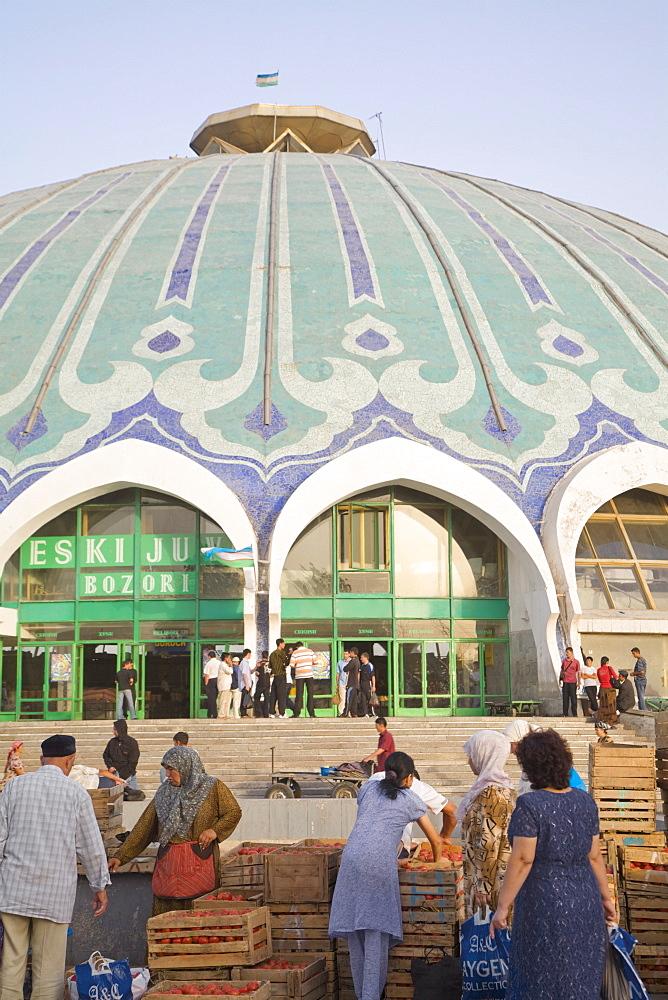 Chorsu bazaar, Tashkent, Uzbekistan, Central Asia, Asia