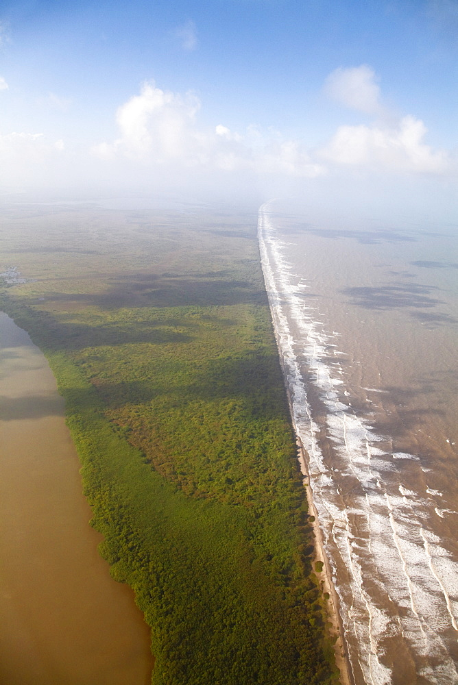 Coast near Bluefields, Nicaragua, Central America