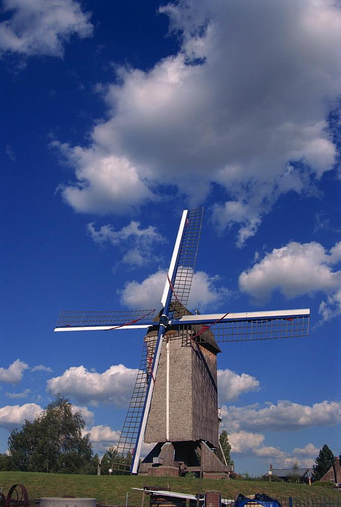 Windmill at Lille, Nord Pas de Calais, France, Europe