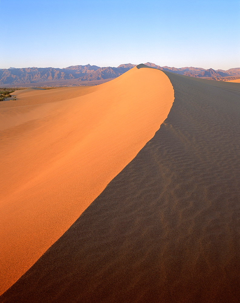 Sand dunes, Death Valley National Monument, California, United States of America, North America