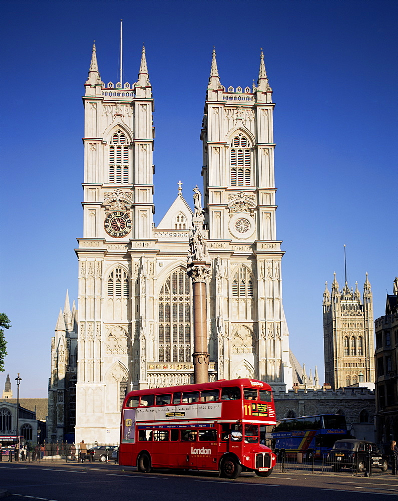 Westminster Abbey, Westminster, UNESCO World Heritage Site, London, England, United Kingdom, Europe