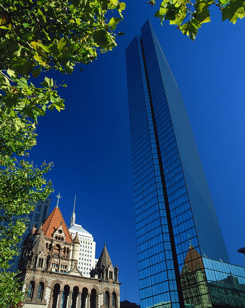 John Hancock Tower, Boston, Massachussetts, United States of America, North America