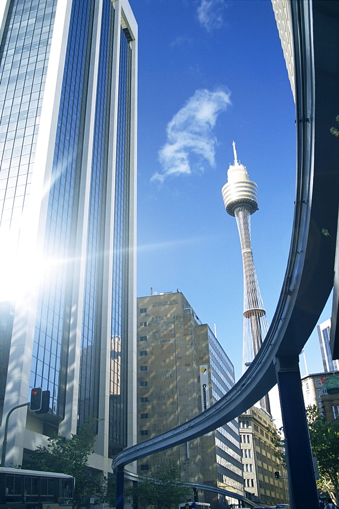 Modern buildings, Sydney, New South Wales, Australia, Pacific - 358-479