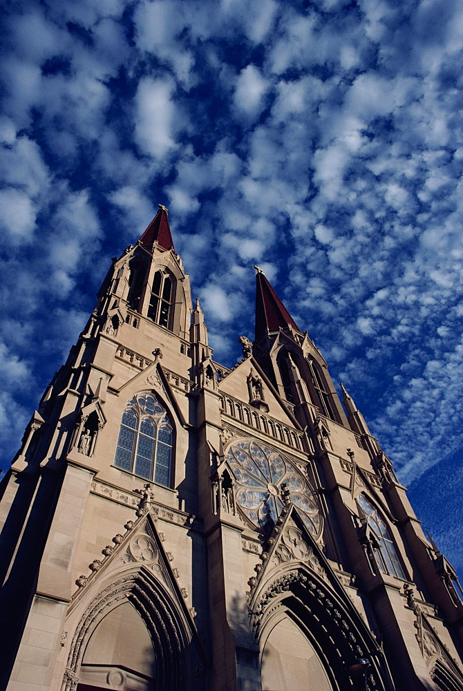 Helena Cathedral, Helena, Montana, United States of America, North America