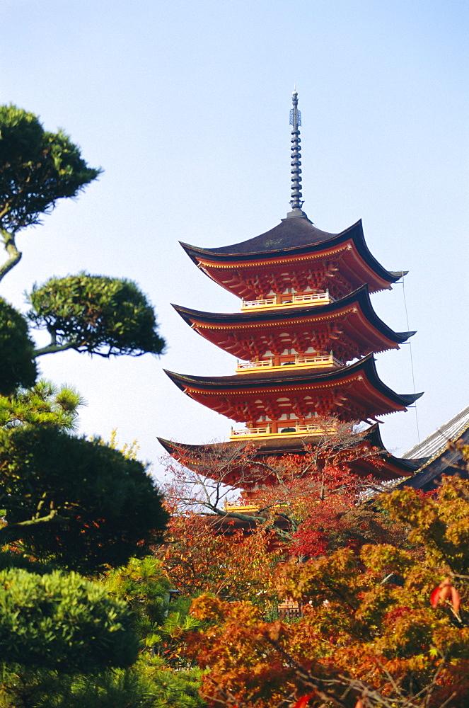Five storey pagoda, Miyajima, Japan - 367-2059