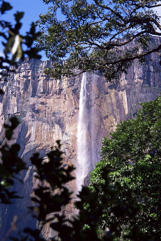 Angel Falls, Canaima National Park, UNESCO World Heritage Site, Venezuela, South America