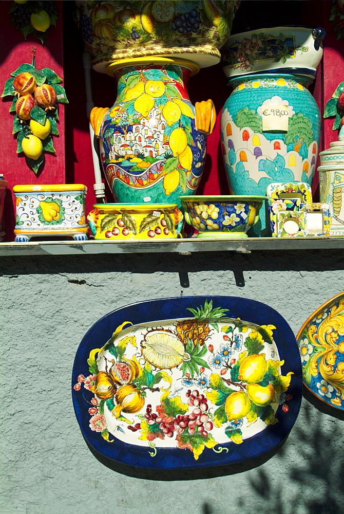 Italy, Campania, Ravello pottery