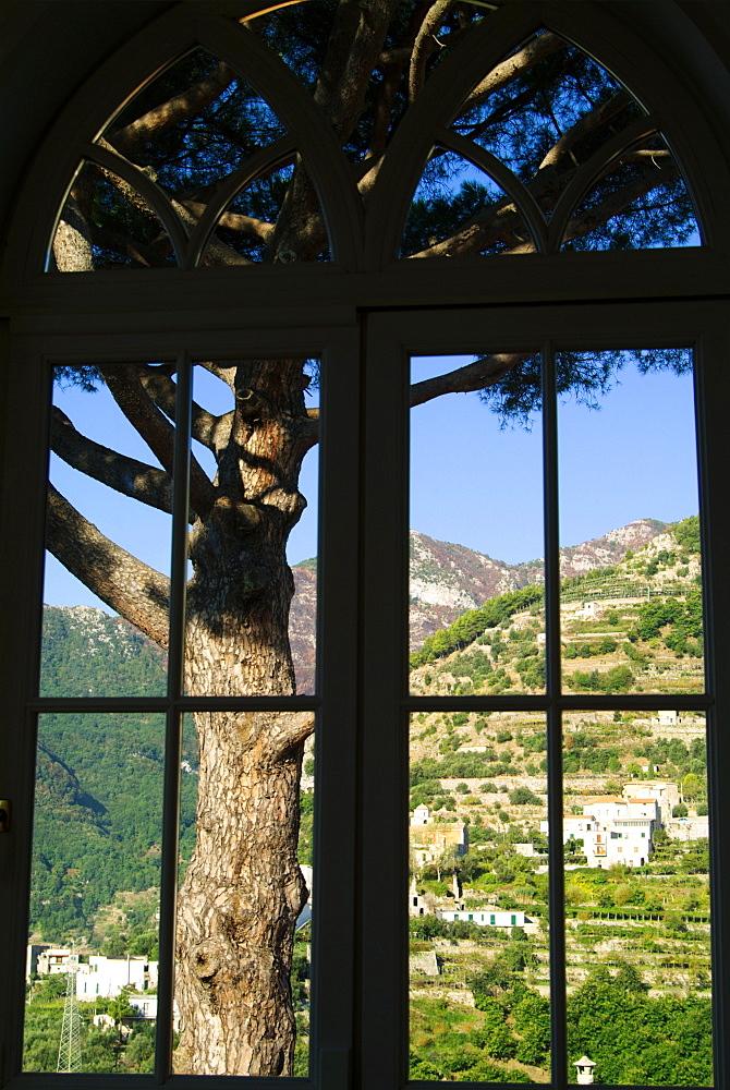 Italy, Campania,  Amalfi Coast, view from Ravello (Villa Rufolo)