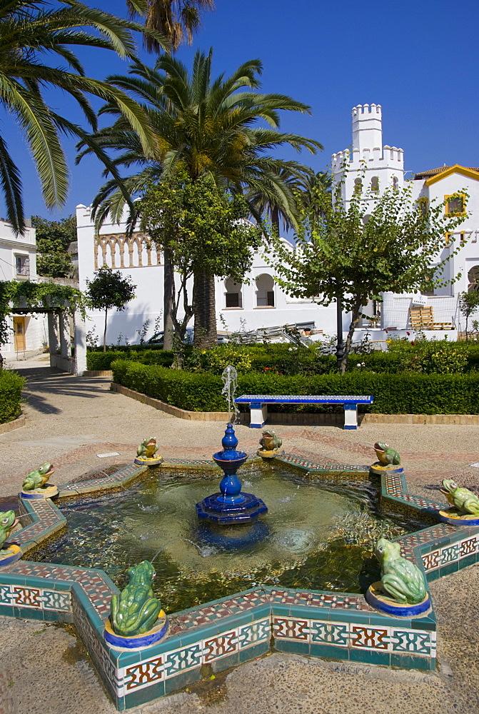 Plaza Santa Maria, Tarifa, Andalucia, Spain, Europe