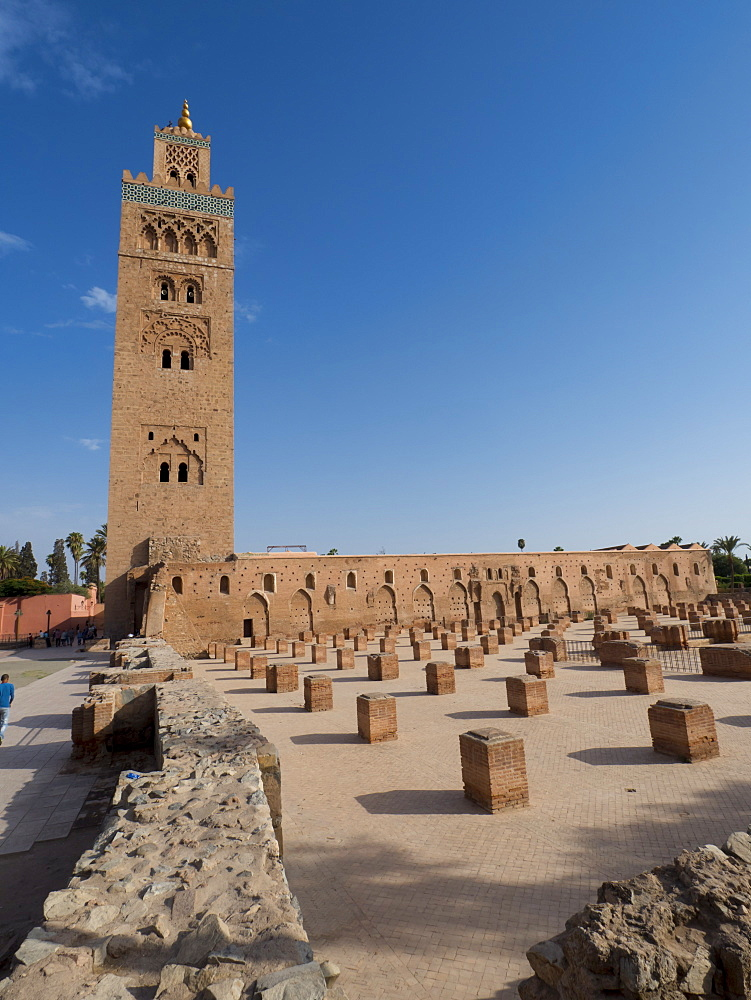 Koutoubia Mosque, Marrakech, Morocco, North Africa, Africa - 367-6050