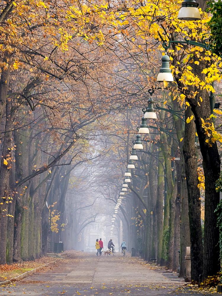 Parco del Valentino, Turin, Piedmont, Italy, Europe