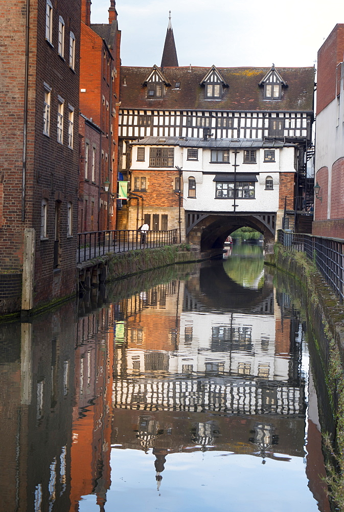 Lincoln High Bridge (Glory Hole), Lincoln, Lincolnshire, England, United Kingdom, Europe - 367-6270