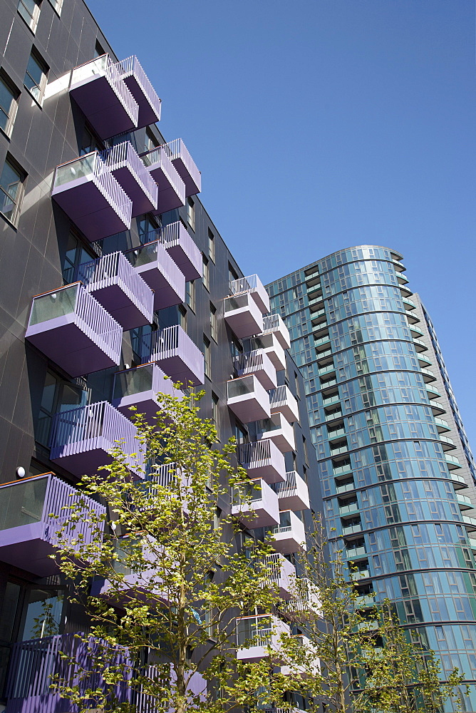 Modern architecture, Stratford, East London, London, England, United Kingdom, Europe - 377-3930