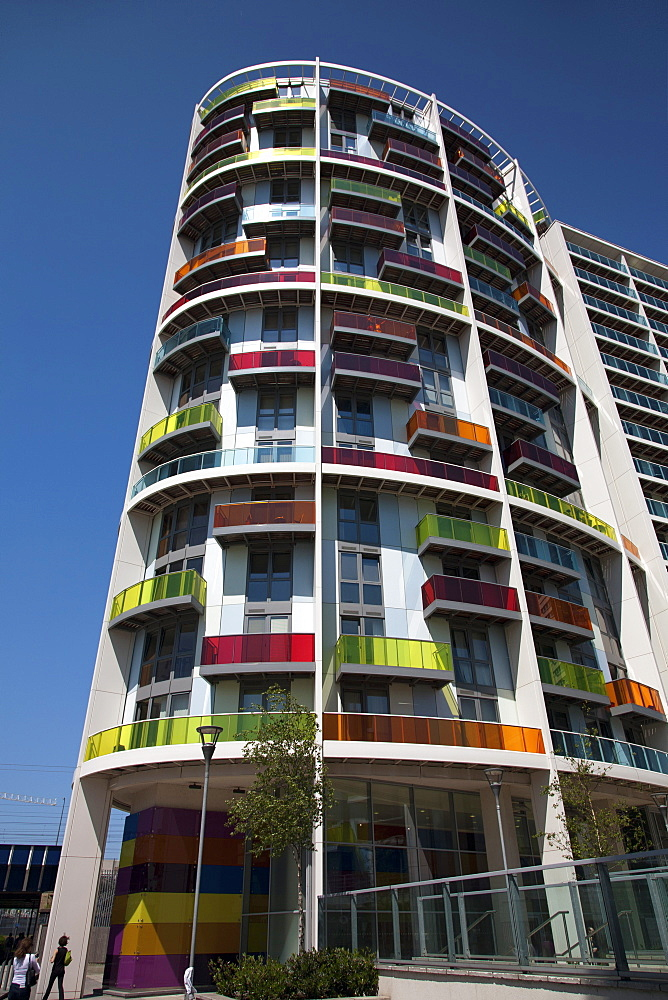 Modern architecture, Stratford, East London, London, England, United Kingdom, Europe - 377-3931