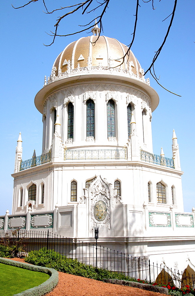 The Shrine of the Bab, Haifa, Israel, Middle East - 377-3979