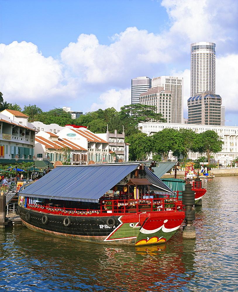 Clarke Quay, Singapore, Southeast Asia, Asia - 383-1523