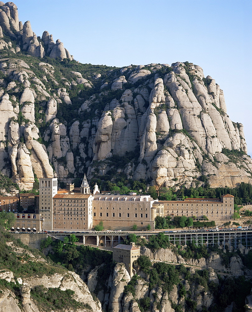 Monastery of Montserrat, Catalonia, Spain, Europe