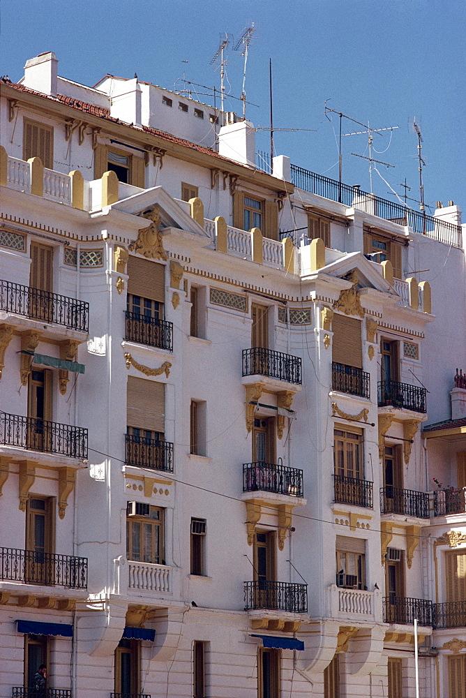 Building block, Algiers, Algeria, North Africa, Africa
