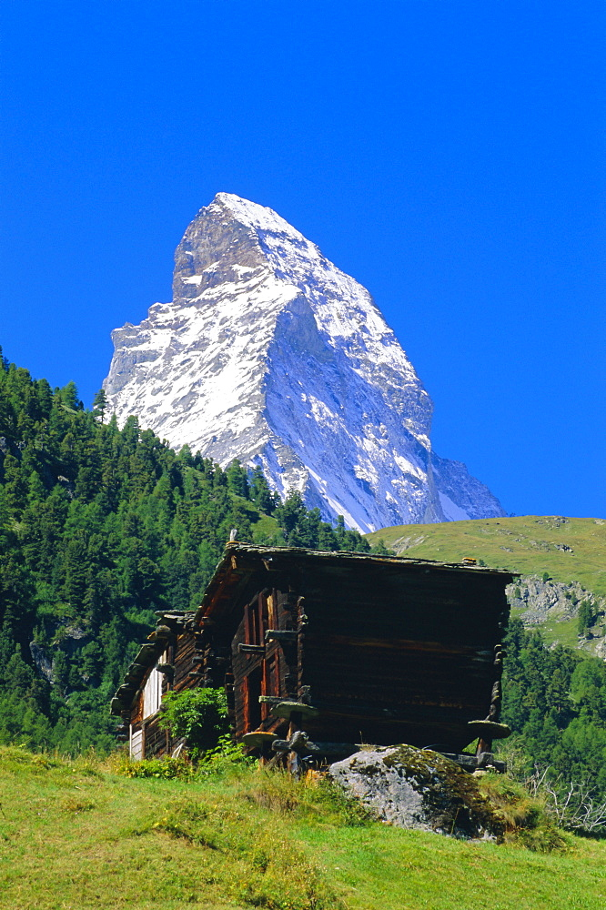 The Matterhorn, Zermatt, Valais, Switzerland, Europe