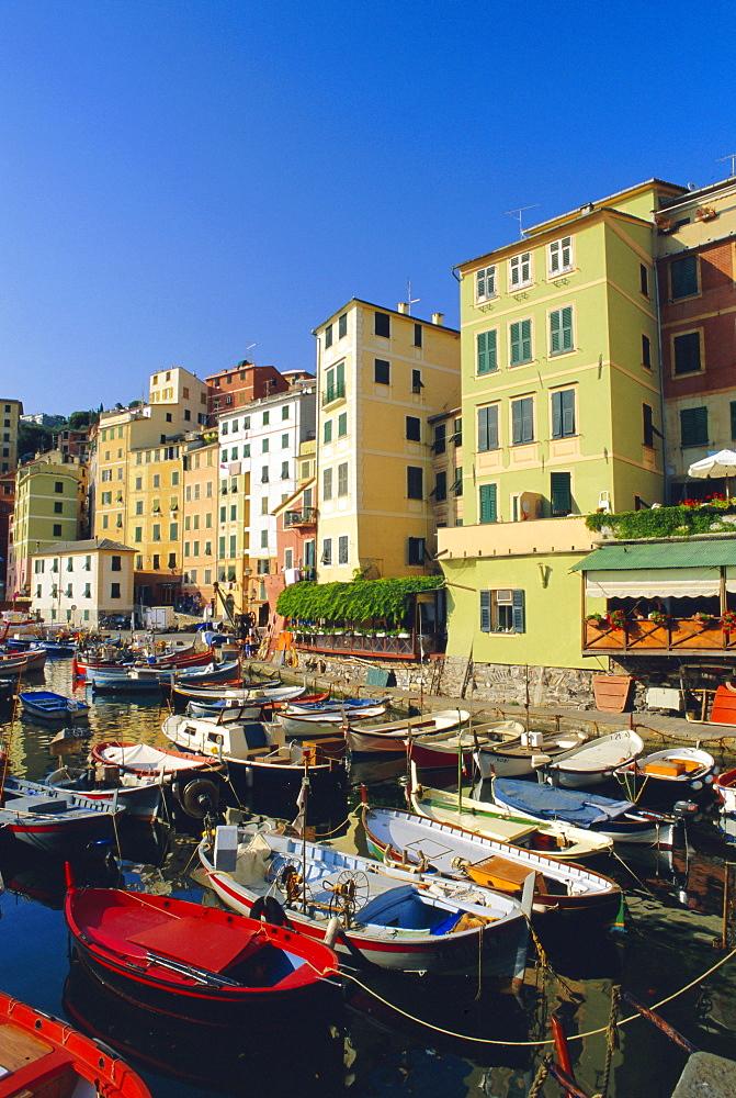 Camogli, Portofino Peninsula, Liguria, Italy, Europe - 390-2012