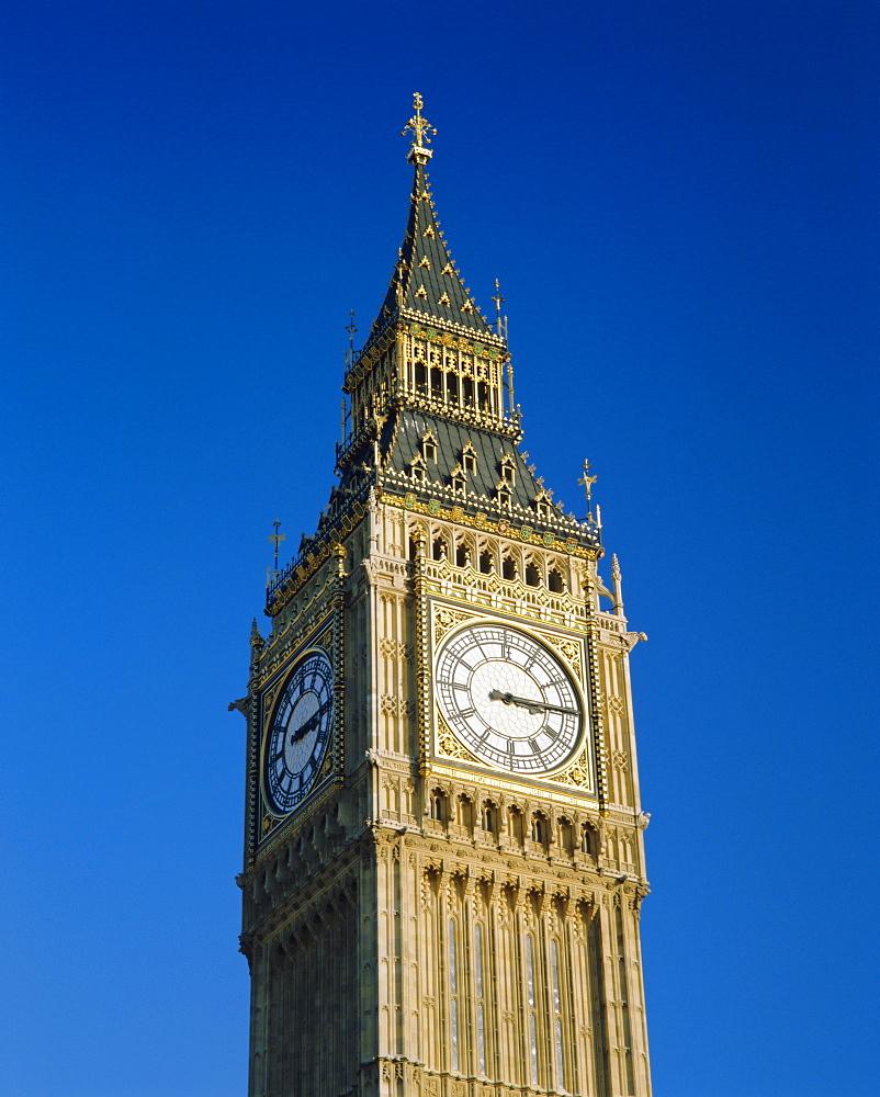 Big Ben, Houses of Parliament, London, England, UK, Europe