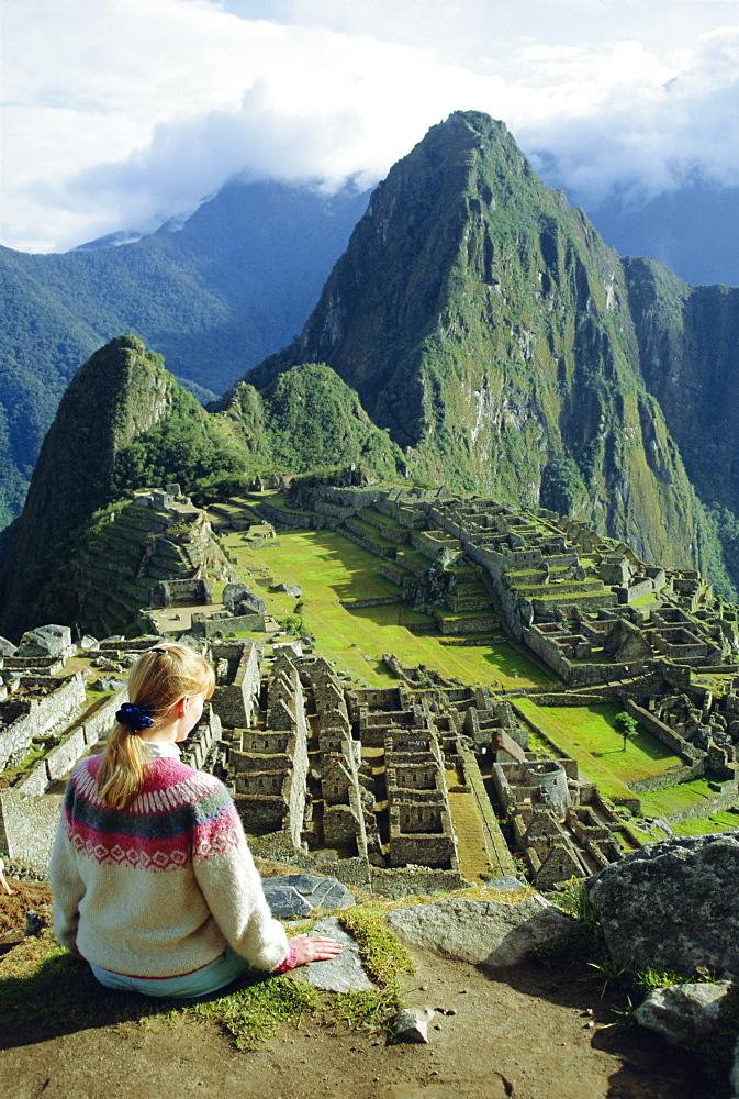 Machu Picchu, Peru, South America *** Local Caption *** The lost city of the Inca was rediscovered by Hiram Bingham in 1911