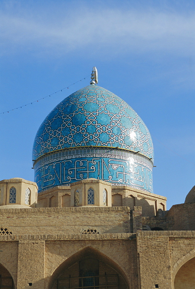 Mausoleum of Shah Nematollah Vali (1331-1431), founder of the order of dervishes, Mahan, Iran, Middle East