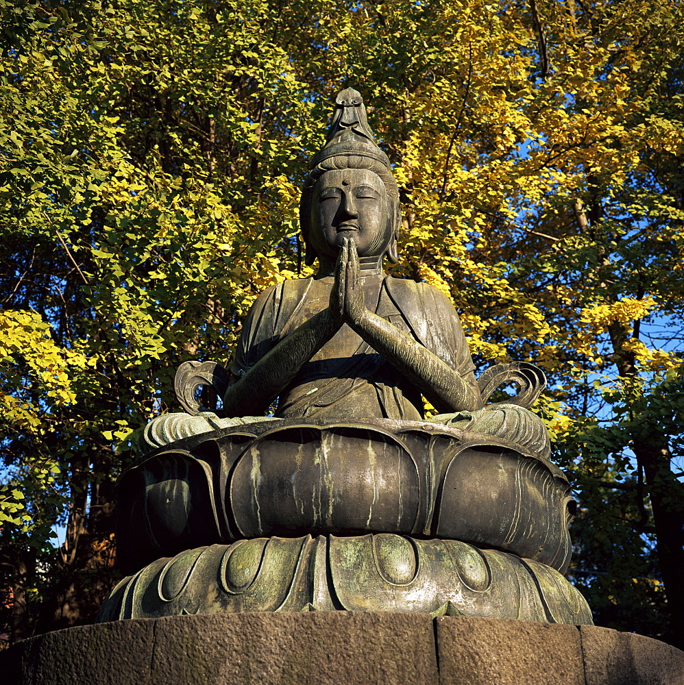 Buddha elect, Nisonbutsu, Asakusa Kannon (Senso-ji) temple, Asakusa, Tokyo, Japan, Asia