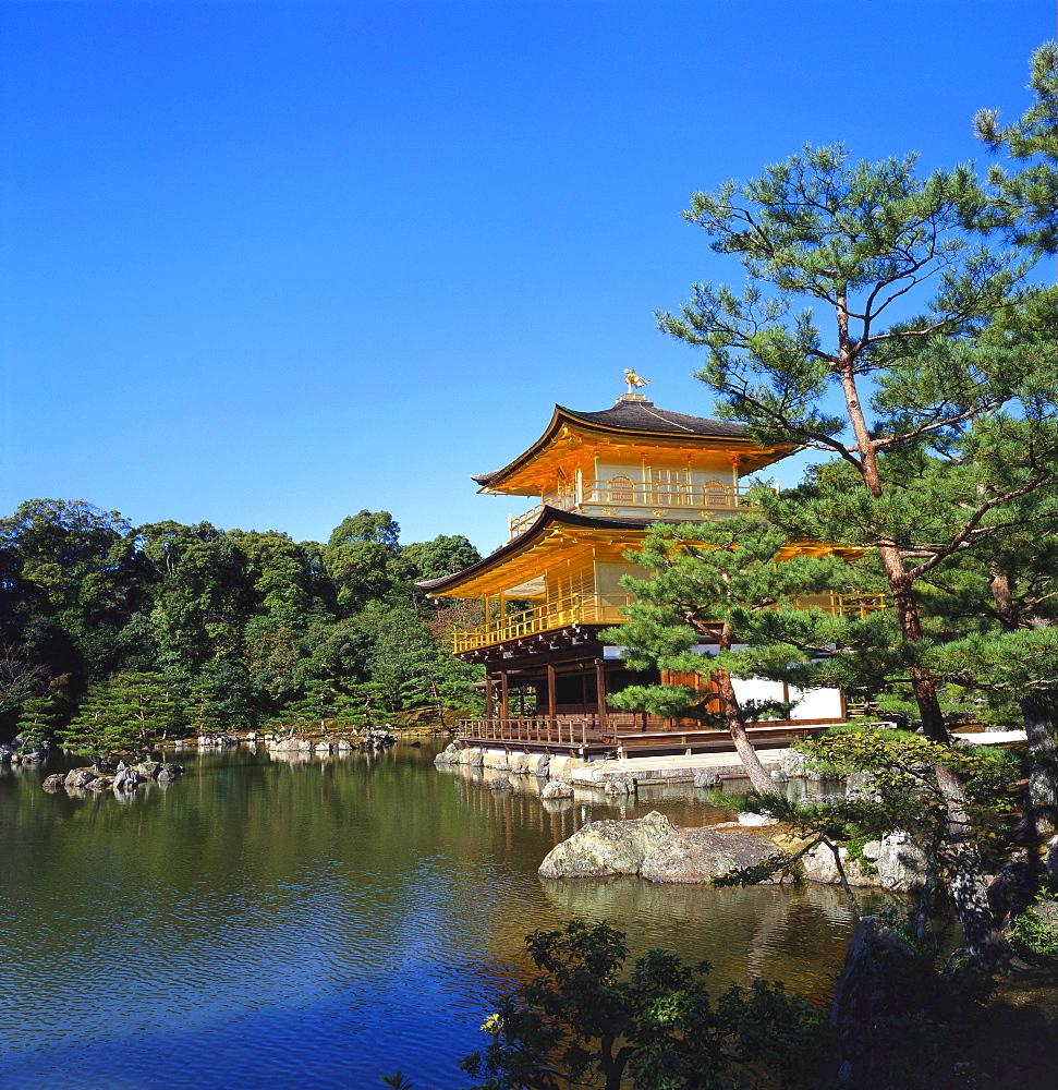 Kinkakuji Temple, Kansai, Kyoto, Japan - 391-5785