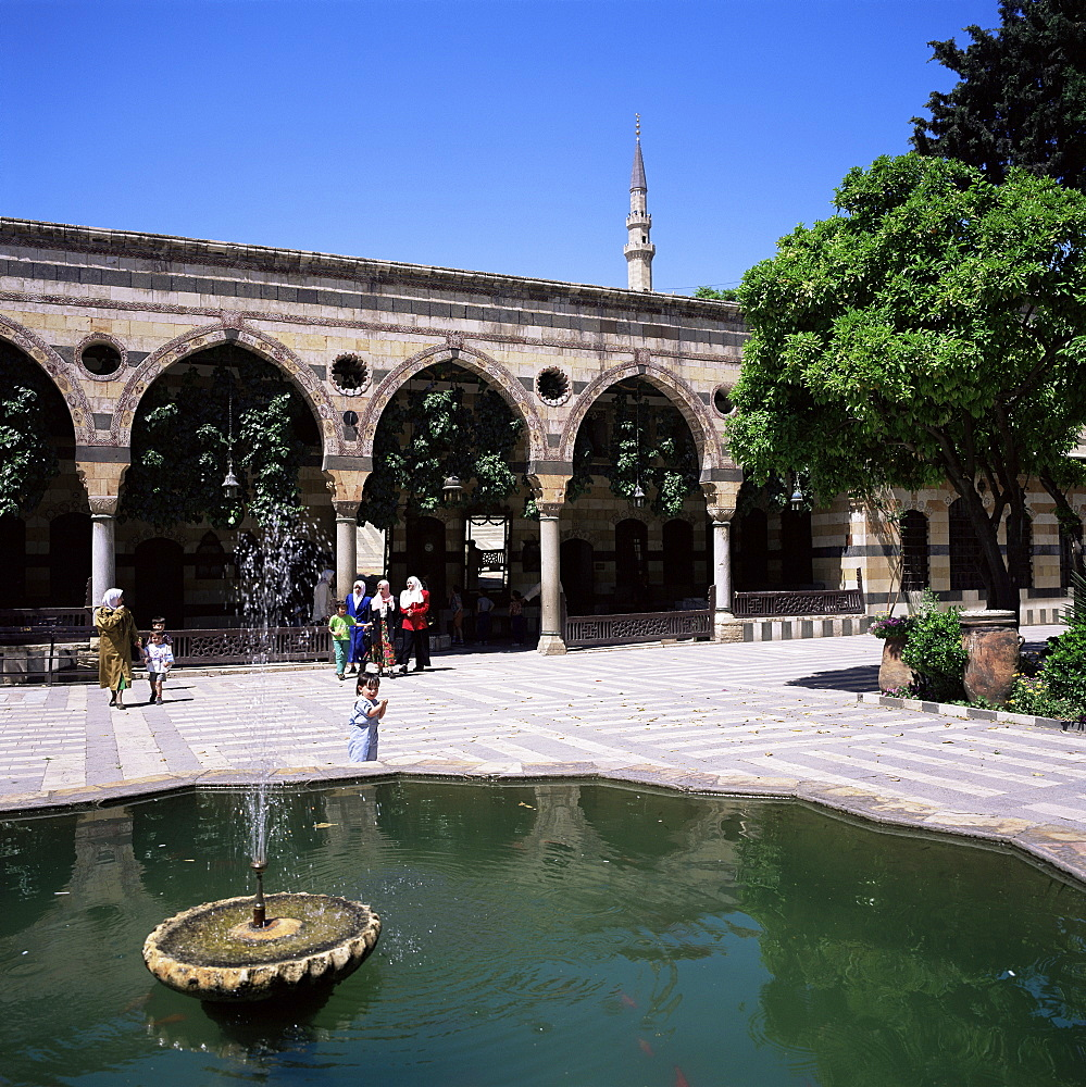 Azem Palace built by As'ad Pacha el-Azem in 1749, Damascus, Syria, Middle East