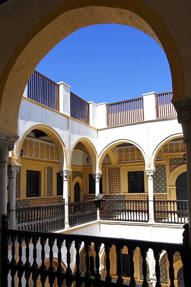 Dar Qaramanli, a traditional 18th century residence, Tripoli, Libya, North Africa, Africa - 391-7667