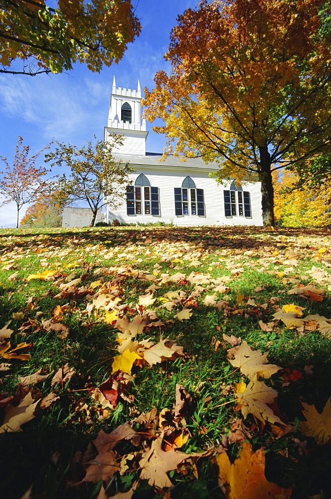 Church in Weston, Vermont, USA
