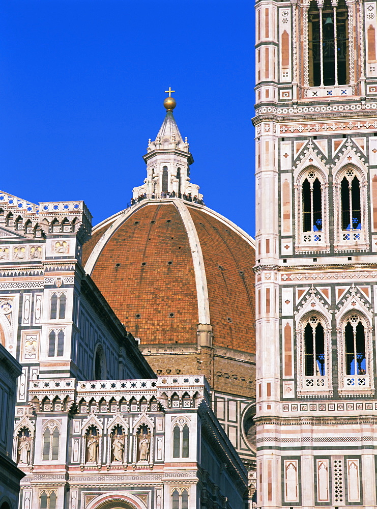 Duomo (Cathedral), Florence, UNESCO World Heritage Site, Tuscany, Italy, Europe - 396-3227