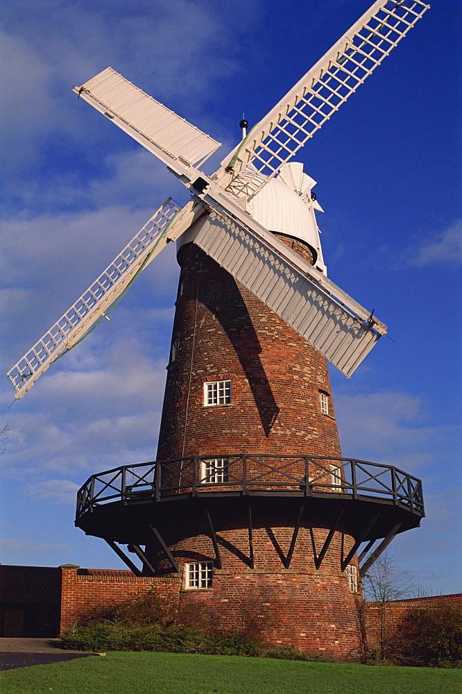 Green's Mill, built in 1807, Green's Park, Nottingham, Nottinghamshire, England, United Kingdom, Europe - 397-1640